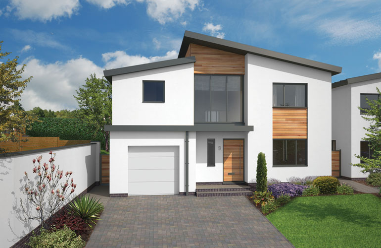 Heritage new homes holland park old rydon lane exeter for New build 5 bedroom house
