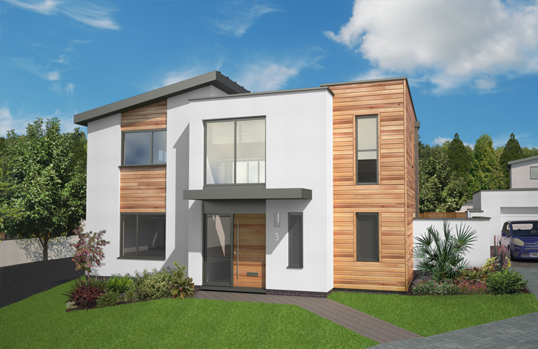 Heritage new homes holland park old rydon lane 3 for Latest modern houses pictures