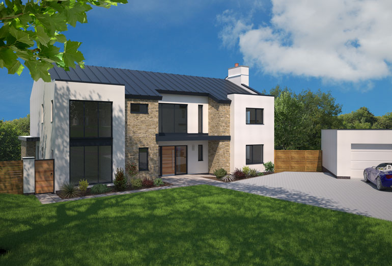 Heritage new homes globe hill woodbury for Modern homes uk for sale