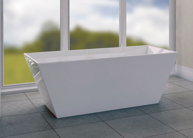 designer bath detail