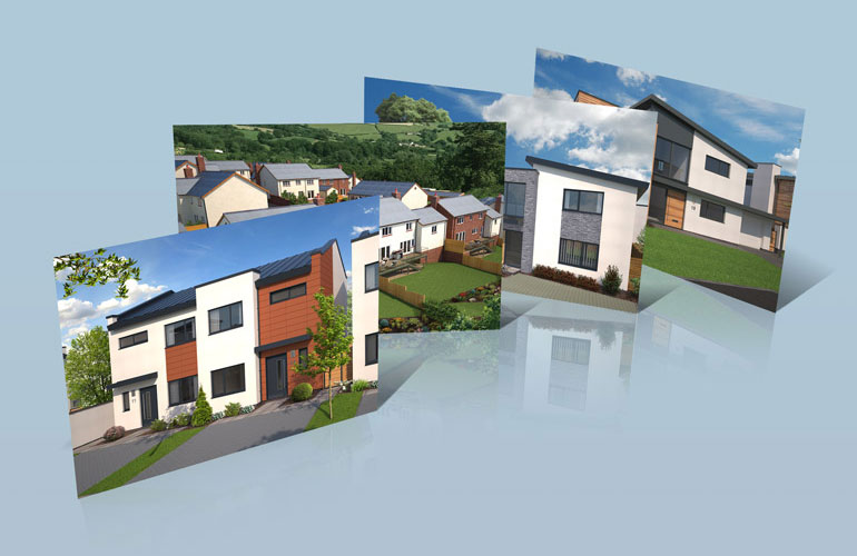 Heritage new homes builders of fine new homes in devon for New housing developments