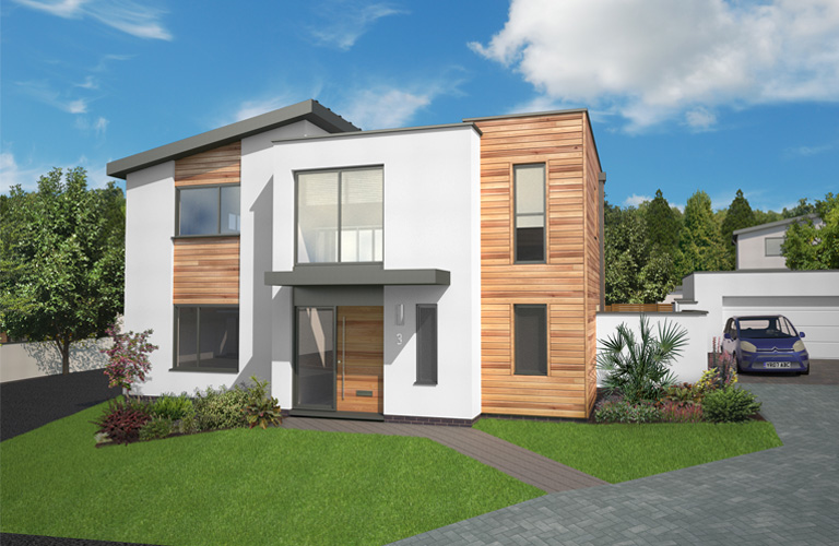 Heritage new homes builders of fine new homes in devon for Small modern homes for sale